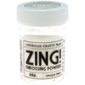 ZING! White Embossing Powder
