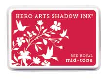 Hero Arts Shadow Ink Red Royal