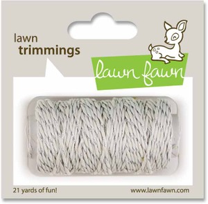 Lawn Fawn Lawn Trimmings Silver Sparkle
