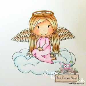 Paper Nest Dolls - Angel Ellie