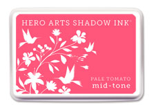 Hero Arts Shadow Ink Pale Tomato