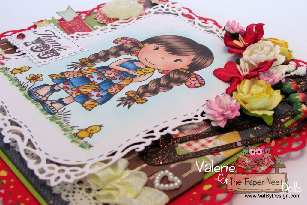Paper Nest Dolls - Hello Chick - ValByDesign