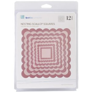 QuicKutz Nesting Scalloped Squares