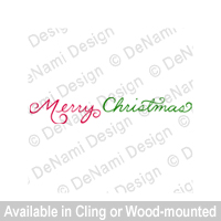 DeNami Design Merry Christmas F235