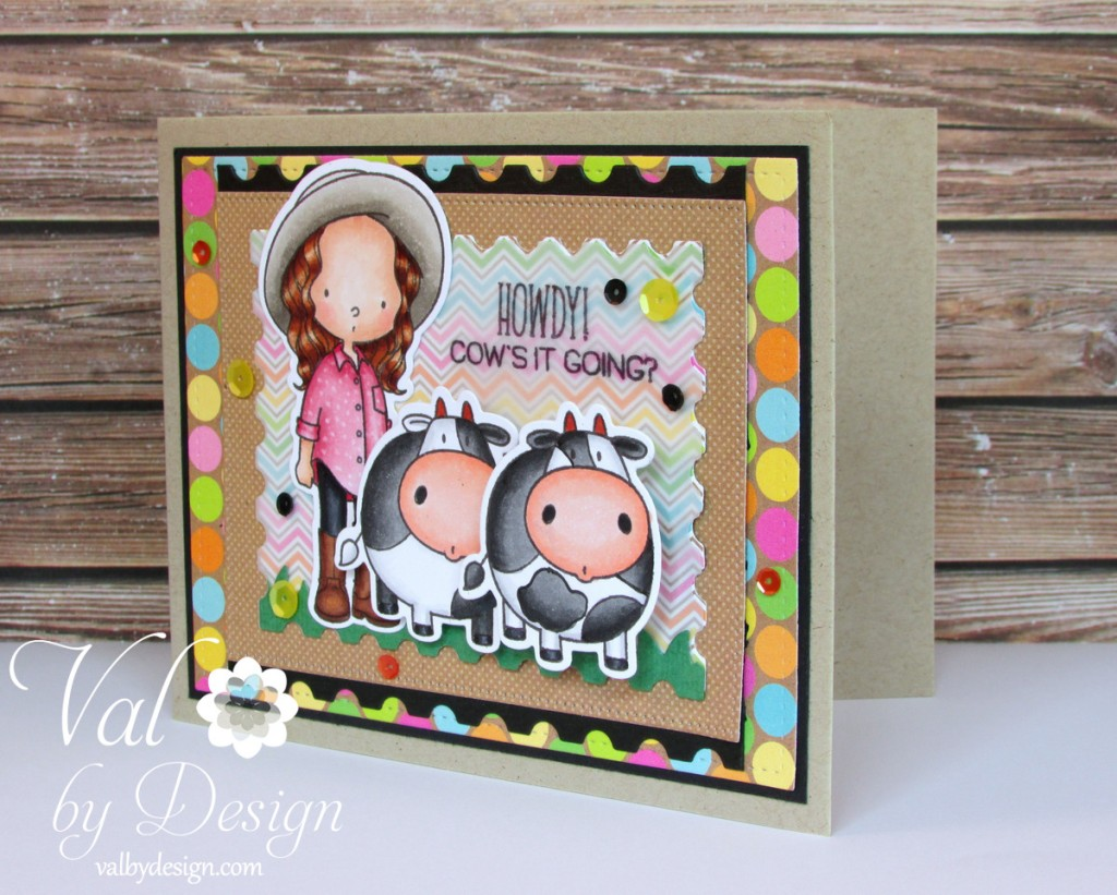 My Favorite Things stamps & dies, Doodlebug  paper, Pretty Pink Posh sequins, Copic markers {ValByDesign, 2015}