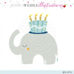 HAPPY BIRTHDAY ELEPHANT