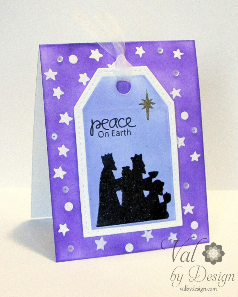 Paper Smooches stamps & dies, Distress inks, embossing powders {ValByDesign, 2015}