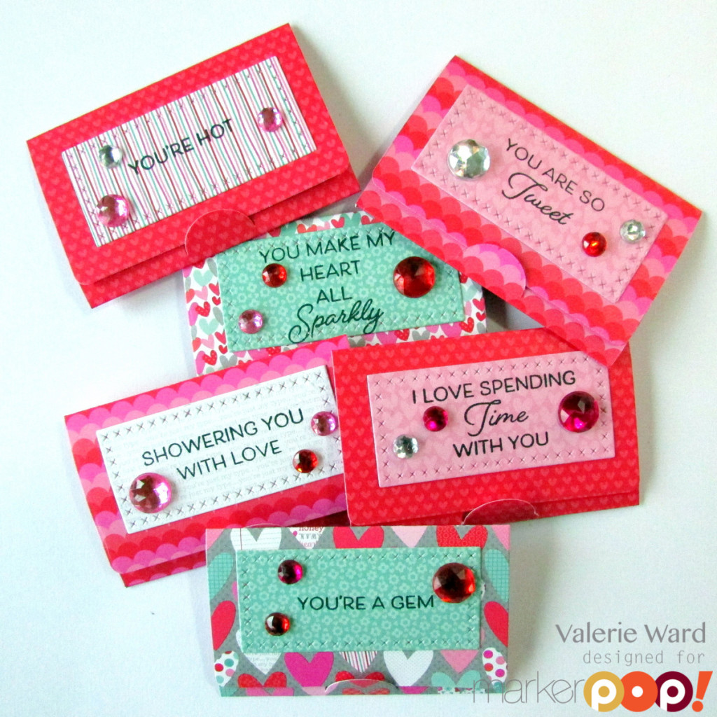 My Favorite Things stamps& dies, Doodlebug paper & Jewels, Copics {ValByDesign, 2016}